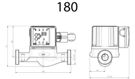 Pompa elektroniczna RS 25/60 180 DIAMOND