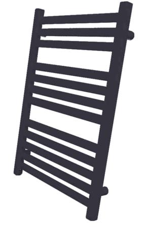Grzejnik łazienkowy Kumiko 750x430 czarny