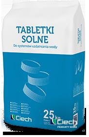 Tabletki solne CIECH do zmiękczania wody 25kg