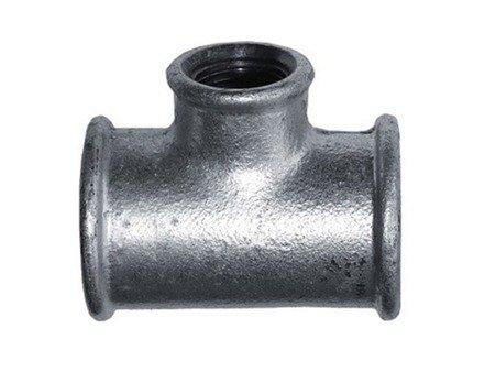Trójnik ocynk ocynkowany redukcyjny 5/4x1 cala
