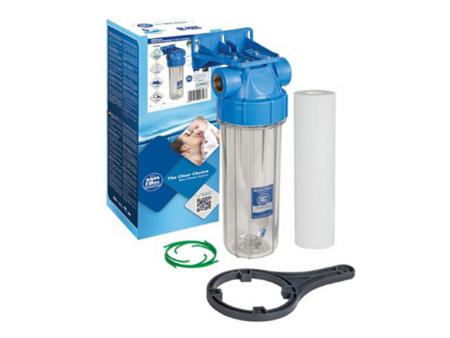 Zestaw filtr obudowa korpus do wody narurowy 1/2''
